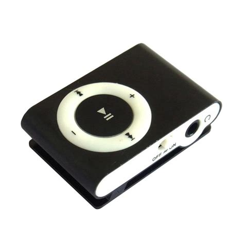 Mp3 Player Hitam jual universal shuffle mp3 player hitam harga