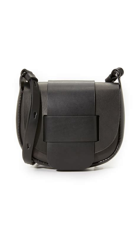 New Pedro Bag pedro garcia saddle bag in black lyst