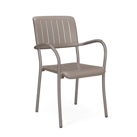 sedia alluminio esterno sedia esterno in alluminio musa nardi