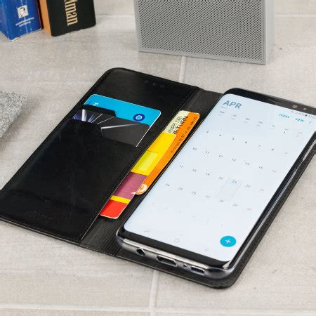 Note 8 Samsung Original Led View Premium olixar leather samsung galaxy s8 plus executive wallet