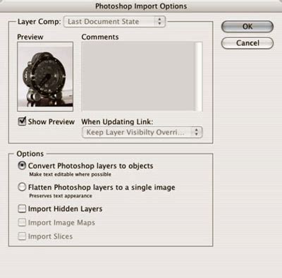 illustrator pattern import how do i get photoshop layers to appear in illustrator