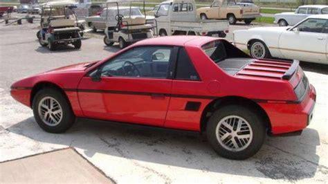 Pontiac Fiero History This Or That 2005 Chrysler Crossfire Srt6 Vs 1984