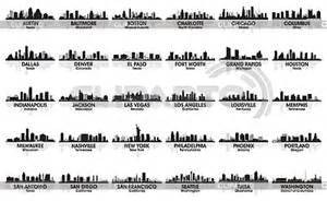 pittsburgh skyline tattoo u s city skylines serie of high quality graphics cliparto
