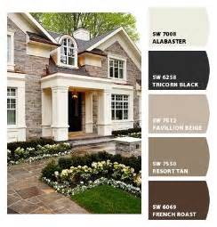 900 best exterior house paint color palettes images on