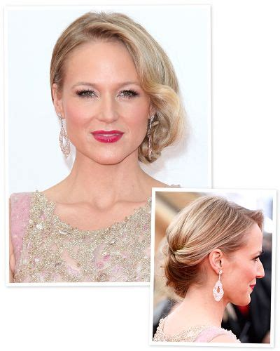 casual christmas hairstyles new year s eve hair idea a soft chignon like elizabeth