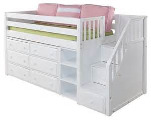 lofted toddler bed loft bed purple room ideas