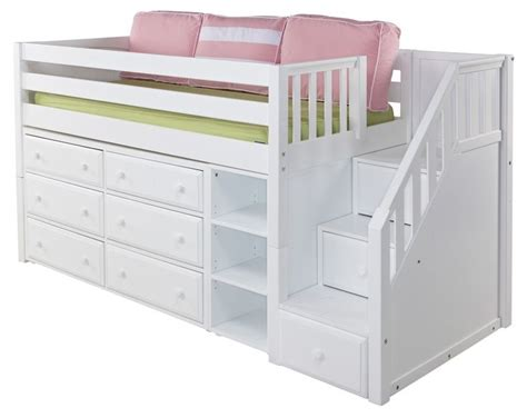 toddler bunk beds with stairs lofted toddler bed loft bed purple room ideas