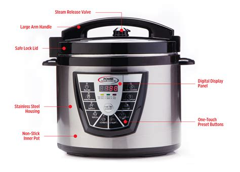 the power pressure cooker xl power pressure cooker xl features power pressure cooker xl