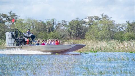 driving boat in florida fan boat ride in kissimmee florida things to do getting
