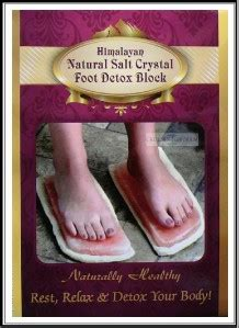 Himalayan Salt Foot Detox Benefits by Himalayan Salt Foot Detox Block Set 2