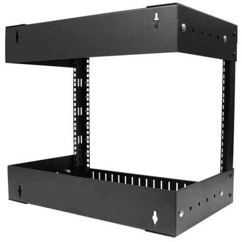 Mounting Rack by Open Frame Wall Mount Server Equipment Rack 8u
