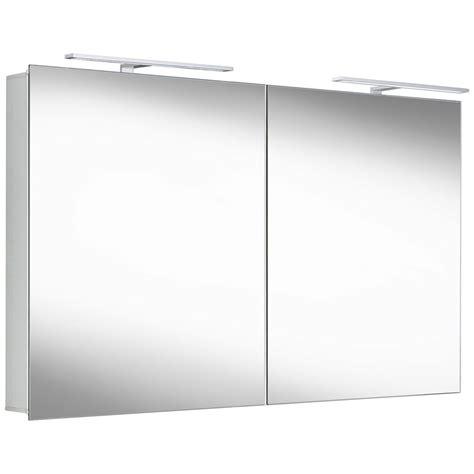 spiegelschrank prima alu spiegelschrank mit led beleuchtung megabad