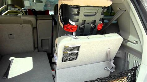 Toyota Highlander Three Car Seats 2011 Highlander Hybrid Review And Carseats