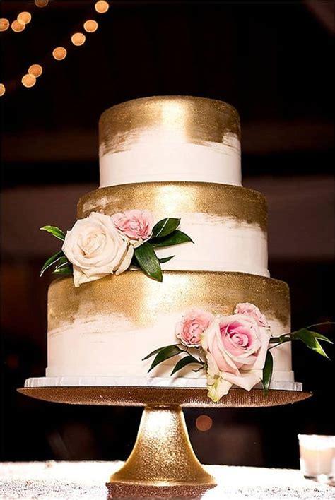 Golden Wedding Cakes by Gold Wedding Cake 12 Best Photos Wedding Ideas