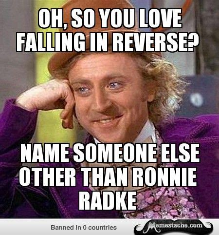 Falling In Reverse Memes - names other and singers on pinterest