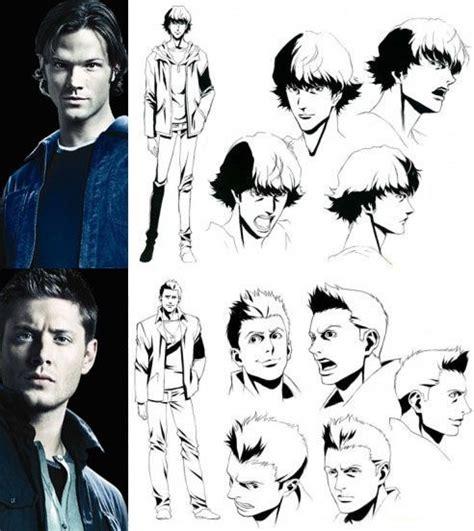 anime supernatural 7 best images about anime supernatural on pinterest dean
