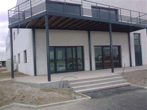terrasse ossature métallique terrasse mezzanine safm localicsol