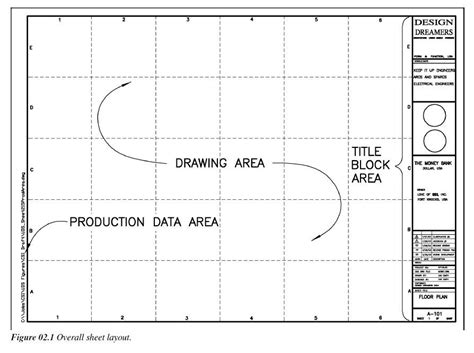 C Drawing Size by Drawing Sheet Layout Border Sizes Title Block St 5