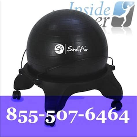 exercise equipment for sitting at your desk exercise ball desk chair the inside trainer inc
