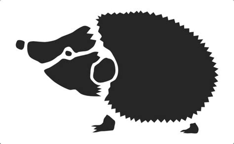 Rose Bathroom Accessories Cute Hedgegog Stencil To Buy Online Now Two Sizes Available