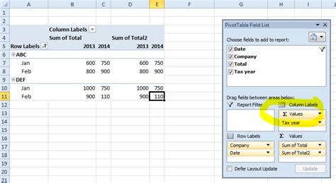 excel tutorial 2013 pivot table excel 2013 pivot table calculated field disabled excel