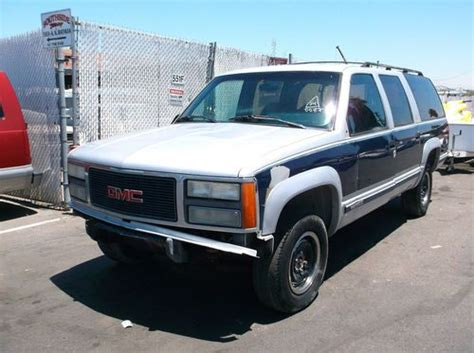 how to sell used cars 1993 gmc suburban 2500 spare parts catalogs sell used 1993 gmc suburban no reserve in orange california united states