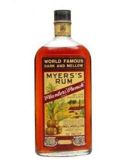 Planters Punch Myers Rum by Buy Myers S Rum Planters Punch Bot 1960s Rum Other Rums Whisky Ratings Reviews