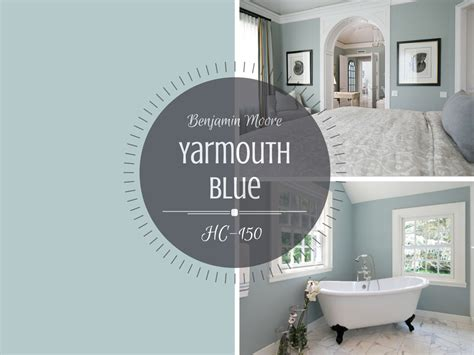 Blue And Beige Bathroom Ideas Colour Spotlight Benjamin Moore Yarmouth Blue Hc 150