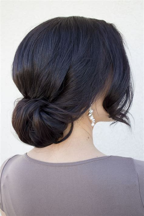Bridesmaid Hairstyles For Really Hair by 25 Best Ideas About Low Bun Hairstyles On Low