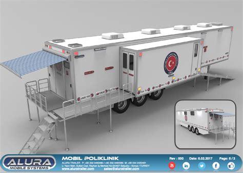 mobile hospital mobile hospital semi trailer alura trailer