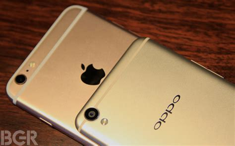 Oppo F1 Plus Go oppo f1 plus vs apple iphone 6s plus design comparison