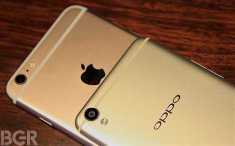 Oppo F1 New oppo f1 plus vs apple iphone 6s plus design comparison