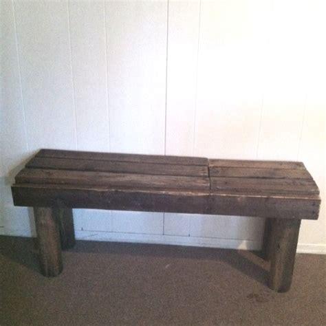 bench out of pallets bench out of pallets all things crafty pinterest
