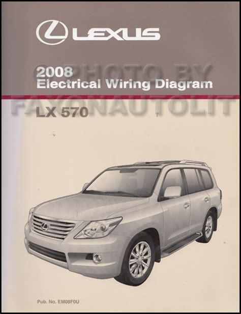 2008 lexus lx 570 navigation system owners manual original