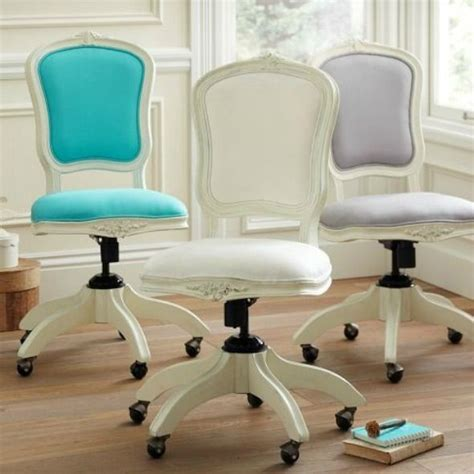shabby chic feminine office chair pieces i