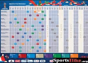Iran Calendario 2018 Fifa 2018 World Cup Russia Schedule Fixtures Groups