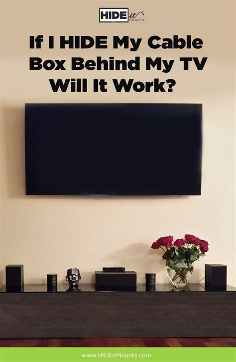 My Tv by 25 Best Ideas About Hide Cable Box On Hiding