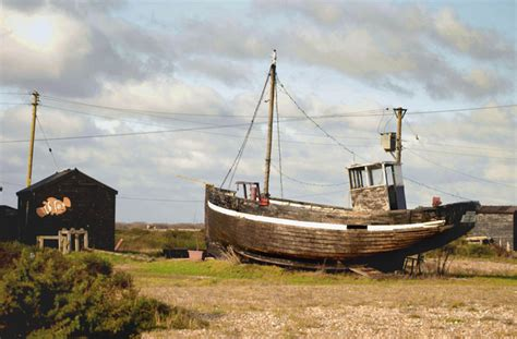 old boat description file old fishing boat at dungeness geograph org uk