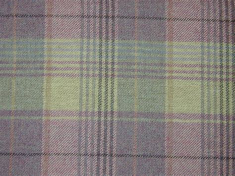 upholstery tartan curtain fabric highland wool tartan heather check plaid