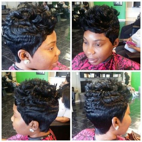 soft look with a 27 piece quick weave 1000 images about short cuts on pinterest quick weave