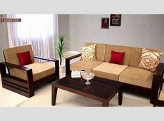60 Wooden Sofa Set Designs for Living Room 2018 - YouTube Wooden Simple Sofa Chair