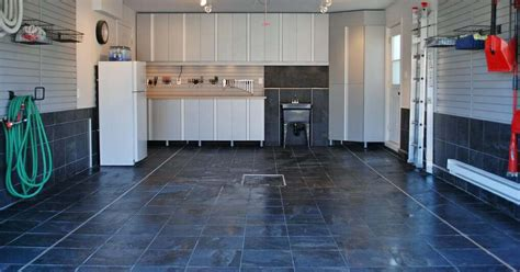 vinyl floor garage choosing garage floor tiles best options to the cheapest all garage floors