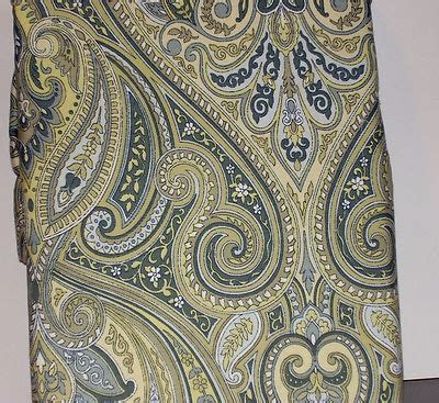 green paisley curtains bella lux blue green yellow paisley shower curtain 72 quot x