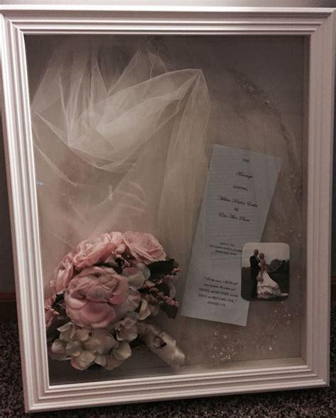 Wedding Veil Box by 1000 Ideas About Bouquet Shadow Box On