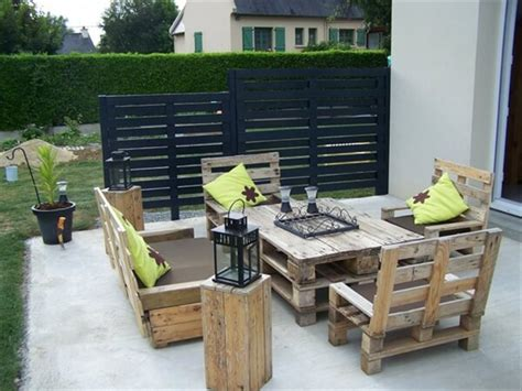 pallet backyard furniture 45 pallet projects diy 101 pallets