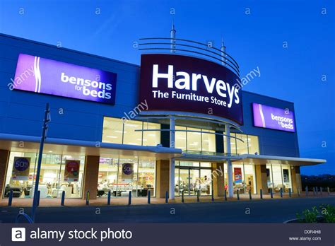 bensons for beds harveys furniture store and bensons for beds stock photo royalty free image 52139620