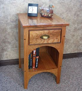 How To Make A Nightstand by Build An Oak And Walnut Nightstand How To