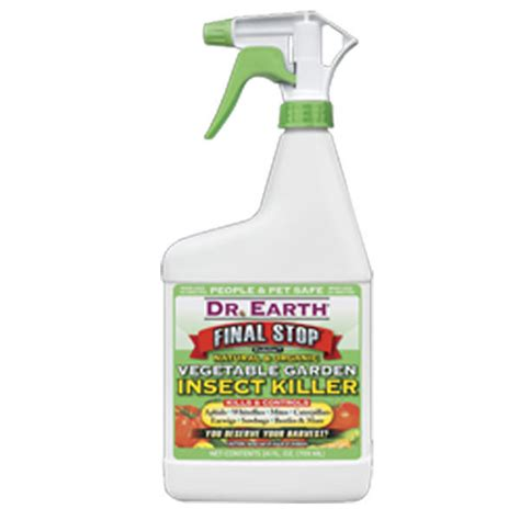 Final Stop 704860 Vegetable Garden Insect Killer 24 Oz All Bug Spray For Vegetable Garden
