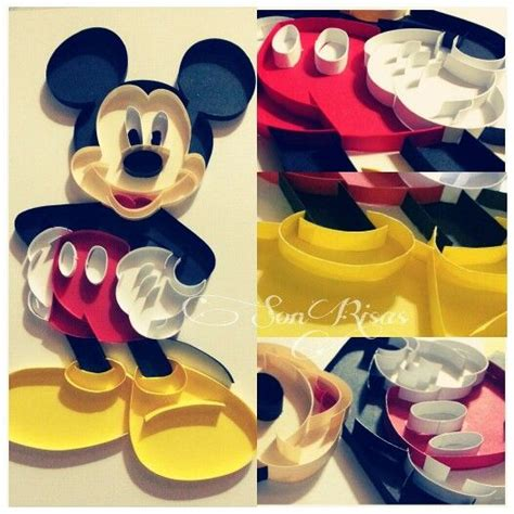 quilling mouse tutorial mickey quilling paper mickey disney quilling paper