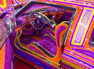 Auto Interiors And Upholstery 10 Wild Lowrider Car Interiors